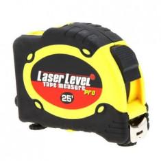 Nivela cu laser si ruleta multifunctionala Level Pro LV-07, 7.5 m - Ruleta masura
