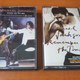 Michael Jackson 2 casete audio single, Alte tipuri suport muzica