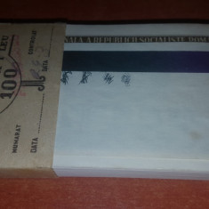 FISIC 1LEU 1966 - Bancnota romaneasca
