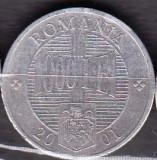 ROMANIA 2001 - MONEDA 1000 LEI