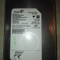 HDD PC Seagate Baracuda 200 gb sata - Hard Disk Seagate, 200-499 GB, Rotatii: 7200, 16 MB