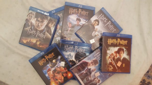 Colectia Harry Potter Blu Ray