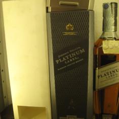 RARE whisky  johnnie walker, PLATINUM LABEL, 18 ANI, cl 70 GR 40