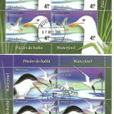 LP 2076-Pasari de balta 2015-Minicoli stampilate, Stampilat