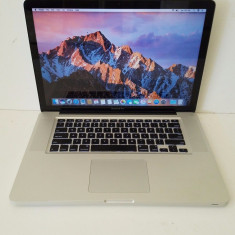 "Apple MacBook Pro 15"" 2011, i7 2,2GHz, 1TB SATA, 8GB DDR3, Intel Core i7, 1 TB, 15 inches"