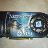 MSI 8800 GTS 640 mb ddr3 256 bits