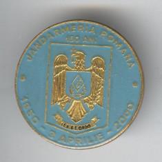 LEX ET ORDO - JANDARMERIA ROMANA 1850-2000 Aniversare 150 ani Insigna MILITARA