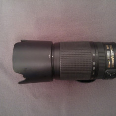 Obiectiv Nikon AF-S VR Zoom-Nikkor 70-300mm f/4.5-5.6G IF-ED - Parasolar Obiectiv Foto