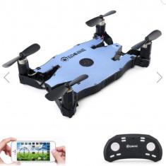 Selfie Drone WiFi cu camera HD 720P - Drona