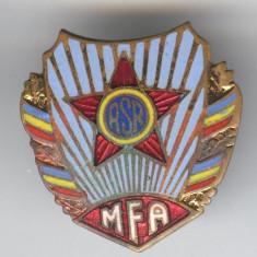 MFA -MINISTERUL FORTELOR ARMATE  din RSR, email  Insigna MILITARA Superba 1970