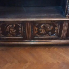 Mobila Florentina veche din lemn pentru birou