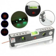 Nivela multifunctionala cu laser, ruleta si boloboc Laser Level - Nivela laser cu linii