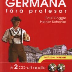 Coggle - Metoda instant Germana fara profesor+2 cd - ed niculescu - Curs Limba Germana polirom