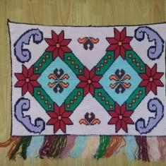 Carpete vechi Romanesti TRADITIONALE, Carpete cusute manuat traditional, folclor - Carpeta
