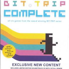 Bit Trip Complete - Nintendo Wii [Second hand] - Jocuri WII, Arcade, 3+, Multiplayer
