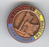 DETASAMENTUL PAULIS 1944-1989 - Istorie Militara Insigna MILITARA