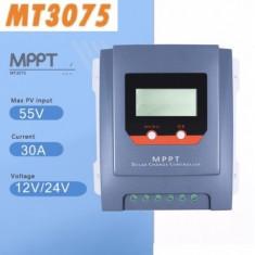 Controller/regulator solar MPPT REAL MT3075 30A LCD Panouri fotovoltaice