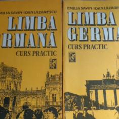 Limba germana curs practic 2 volume an 1992/880pag- Emilia Savin, I. Lazarescu - Curs Limba Germana