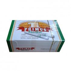 Tuburi TIGARETE PRIMUS 100 MENTHOL