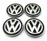 Set 4 buc. capace jante cu logo VW, Ø = 56mm