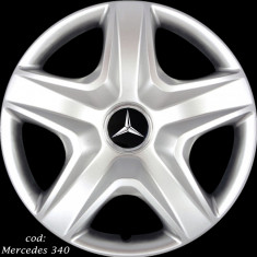 Capace roti 15 Mercedes – Imitatie jante aliaj, R 15