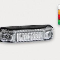 Lampa Gabarit LED Galben PREMIUM  Remorca Camion Rulota TIR 12v-24v AL-050218-3
