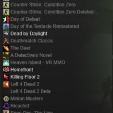 Cont Steam 16 Jocuri
