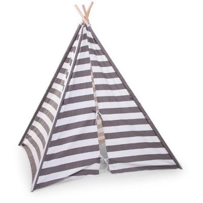 diverse stiluri furnizor oficial verifică Cort de Indieni pentru Copii Tipi Grey Stripes | arhiva Okazii.ro