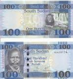 SUDANUL DE SUD 100 pounds 2017 - UNC