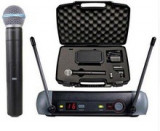 SET Microfon Wireless + Geanta Profesional SHURE PGX 2-PGX 4 Beta 58