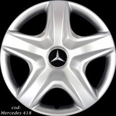 Capace Roti 16 Mercedes - Imitatie Jante Aliaj, R 16