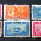 ROMANIA - 2 serii nestampilate, Nestampilat