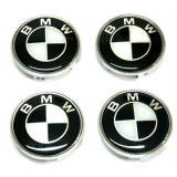 Set 4 buc. capace jante cu logo BMW, Ø = 68mm