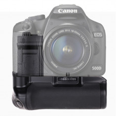 Battery Grip compatibil cu Canon EOS 500D 450D 100 - Incarcator Camera Video