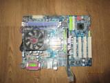Kit placa baza Gigabyte+Proc 1,6Ghz+512Mb Ram+Pl.Video, poze reale, Pentru AMD, 754, DDR