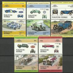 Nukufetau-Tuvalu 1984 - automobile, serie neuzata - Timbre straine