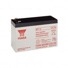 Baterie plumb 12V 7.0Ah (Faston 230 - 6.35mm) - Baterie Aparat foto