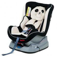 Scaun Auto My Kids Panda - Scaun auto copii, 0+ -1 (0-18 kg), In sensul directiei de mers, Isofix