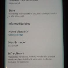 Samsung S6 Edge - Telefon Samsung, Negru, 32GB, Neblocat