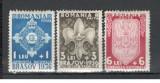 Romania.1936 Jamboreea Nationala Brasov YR.35, Nestampilat