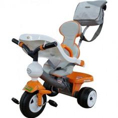 Tricicleta cu maner si accesorii Didactic 3 - Polesie - Tricicleta copii
