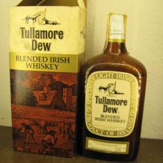 Whisky tullamoredev, blended irish WHISKY, CL. 75 GR 43 - ani 1960/70