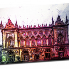 Tablou pe metal striat Ismailiyya Palace