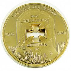 Medalie Germania Crucea de Fier Niemals Vergessen Medalie Aniversara 1914 - 1945, Europa