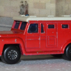 Macheta Matchbox Superfast nr. 69 Armored Truck - Macheta auto Matchbox, 1:64