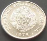 Moneda 15 Bani - ROMANIA, anul 1975 *cod 1621  Allu - UNC, Aluminiu