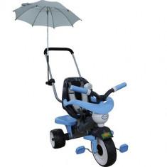 Tricicleta cu maner, umbrela si accesorii Comfort 2 - Polesie - Tricicleta copii