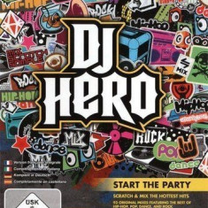 DJ Hero - Nintendo Wii [Second hand] - Jocuri WII, Board games, 3+, Multiplayer