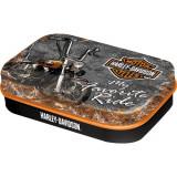 Cutie metalica VINTAGE cu bomboane - Harley Davidson - Favourite Ride
