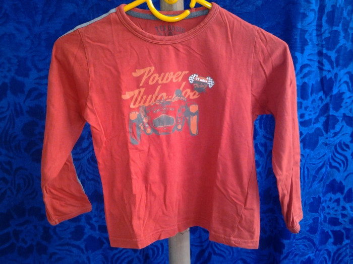 Tex Basic Red / bluza copii 5 - 6 ani (110/116 cm)